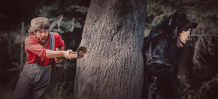 L'ours et le chasseur